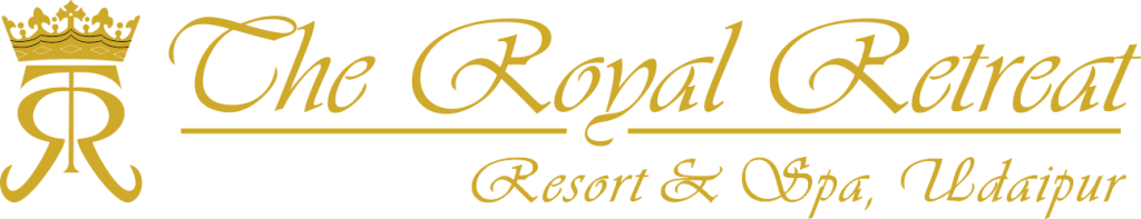 The Royal Retreat Logo - gold wide - new